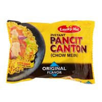 Lucky Me Instant Pancit Canton Chow Mein Original Flavour 65g