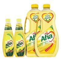 Afia Corn Oil 1.5Lx2 + 750mlx2