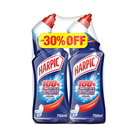 Harpic Toilet Cleaner Original 750ML X2 -30% Off