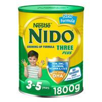 Nestle Nido Three Plus growing Up Milk Powder 1800g