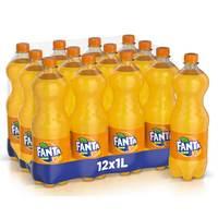 Fanta Orange 1L x Pack of 12