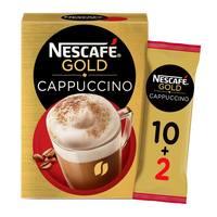 Nescafe gold cappuccino 17g X 10+2