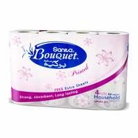 Sanita Bouquet Paper Kitchen Towel Printed 28CM 4 Rolls