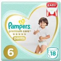 Pampers Premium Care Diaper Pants Extra Large Size 6 16+kg 18 Count
