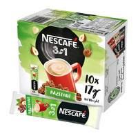 Nescafe 3 in 1 coffee hazelnut 17 g X 10