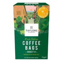 Taylors Rich Italian Coffee Bags Roast 4 75g