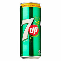 7UP Carbonated Soft Drink Cans 245ml x Pack of 6