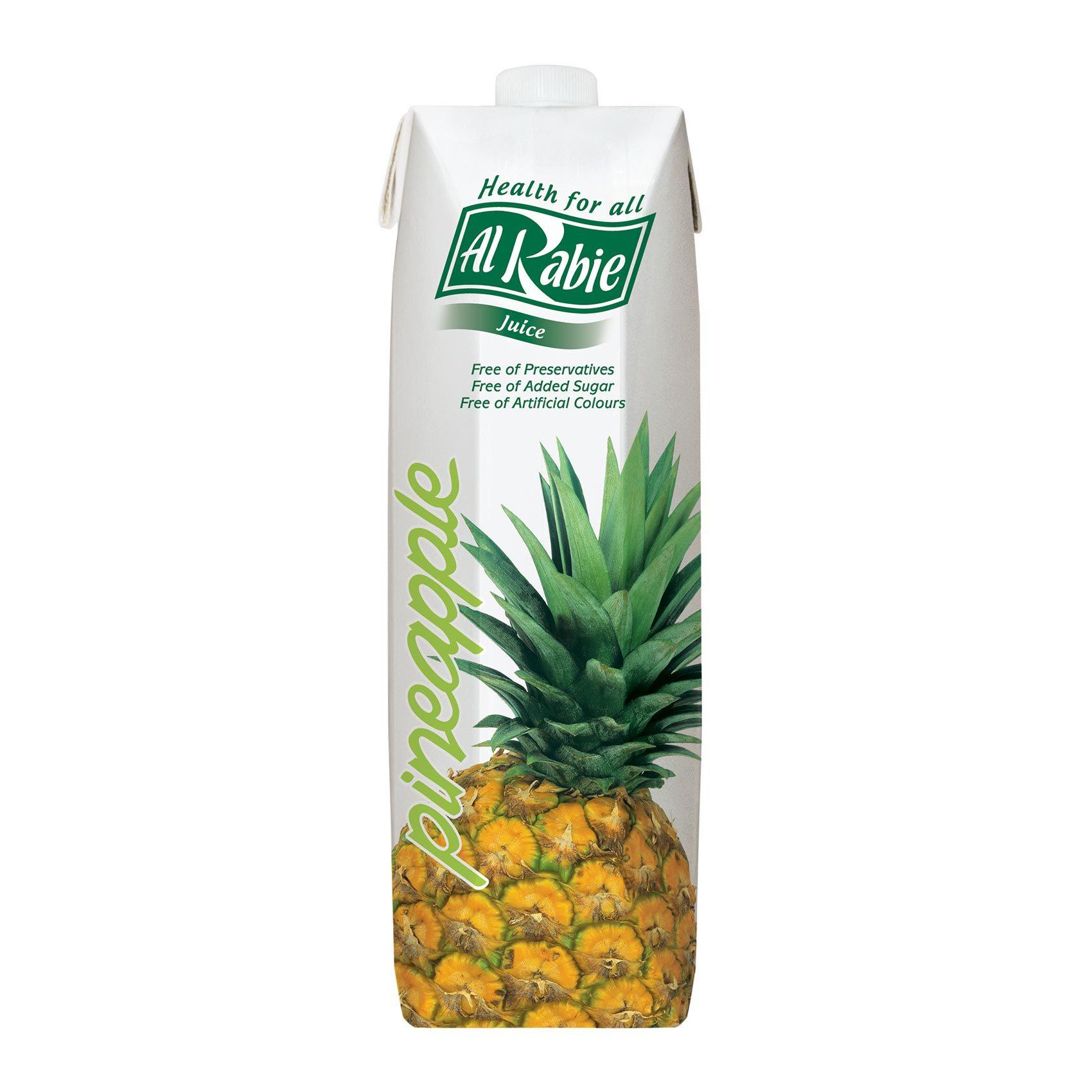 Buy Alrabie Pineapple Juice 1 L Online Shop Beverages On Carrefour Saudi Arabia