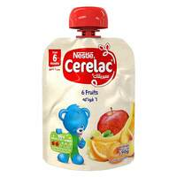 Nestle 6 Fruits Baby Cerelac 6 Month 90g
