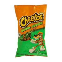 Cheetos Crunchy Cheddar Cheese Jalapeno Snacks 227g