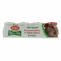 Al Alali 100% Natural Tomato Paste 130g x 8 Piece