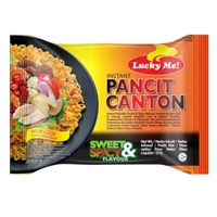 Lucky Me Pancit Canton Sweet and Spicy Flavor Noodles 60g