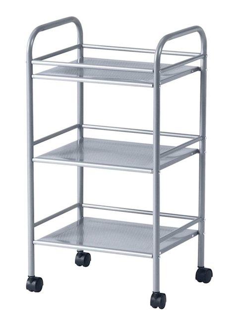 Buy Ikea Draggan Trolley Colour Silver 41X32X75cm Online ...