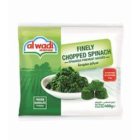 Al Wadi Al Akhdar Spinach In Portions Frozen 400GR