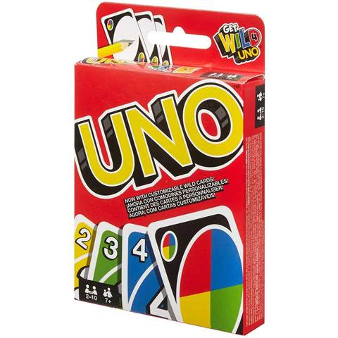 Buy Mattel Games Uno W2087 Card Game European Version Online Shop Toys Outdoor On Carrefour Uae