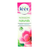 Veet Naturals Sensitive Skin with Camelia Seed Oil Hair Removal Cream 100g
