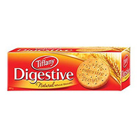 Tiffany natural digestive wheat biscuits 400 g