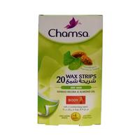 Chamsa Wax Body Strips Sensitive Skin 20 Sheets
