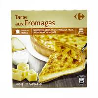Carrefour tart 3 cheese 400 g