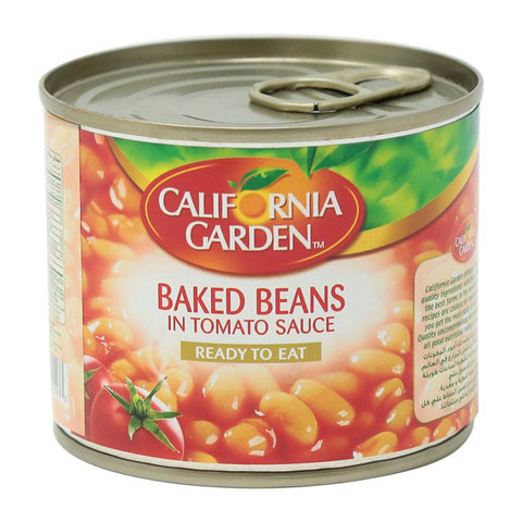 Buy California Garden Canned Baked Beans In Tomato Sauce 220g Online Shop Food Cupboard On Carrefour Uae