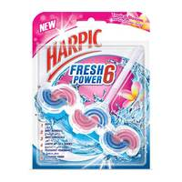 Harpic fresh power 6 citrus automatic toilet cleaner tropical blossom 35 g