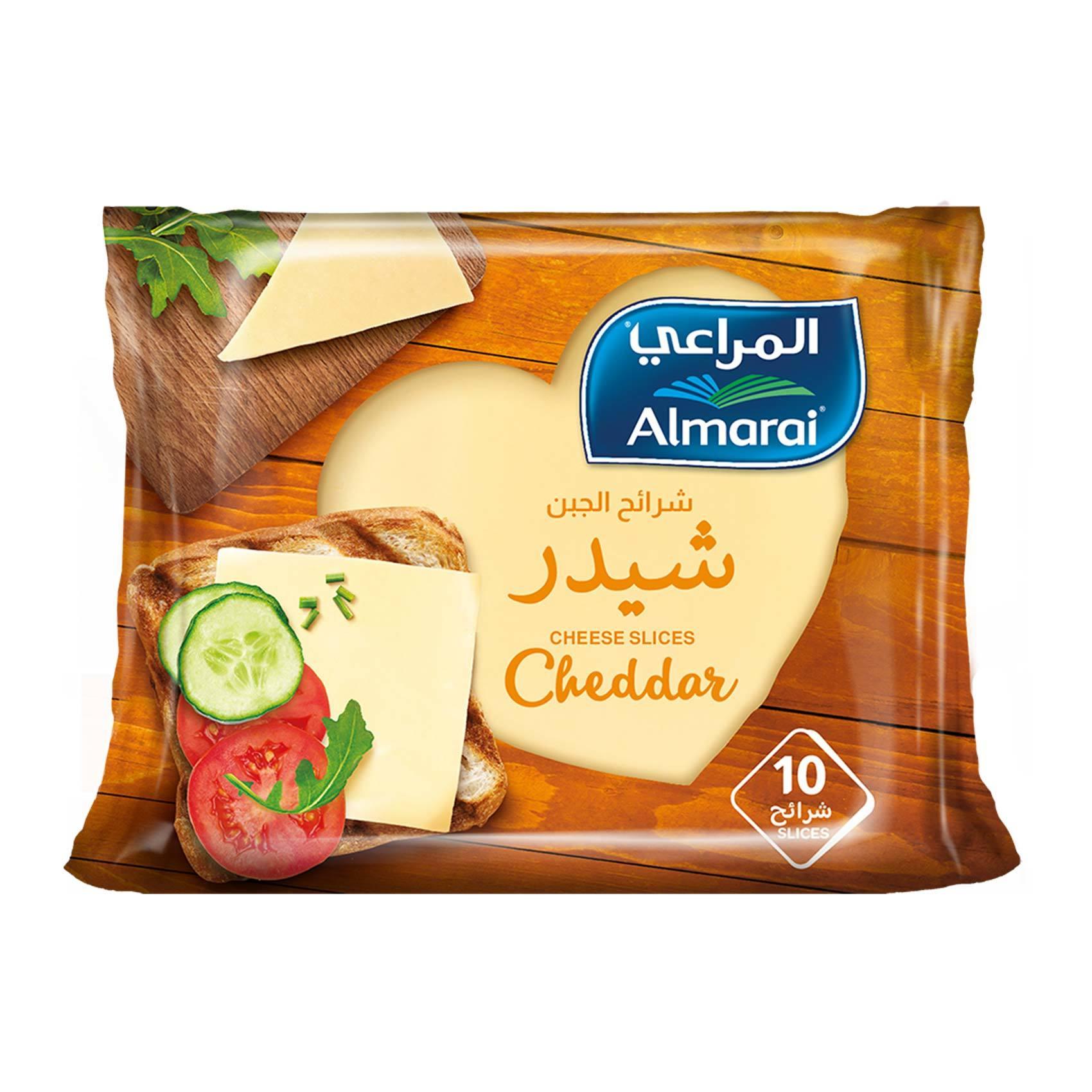 Buy Almarai Cheese Slices Cheddar 200 G Times 10 Pieces Online Shop Fresh Food On Carrefour Saudi Arabia