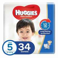 Huggies Baby Diapers Size 5 34 Count x Pack of 2