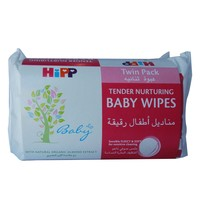 Hipp Baby Wipes 56 Count x Pack of 2