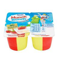 Nestle Munch Bunch Double Up Strawberry Vanilla 85g x Pack of 4