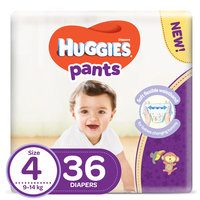 Huggies Pants Size 4 9-14kg Diapers 36 Count