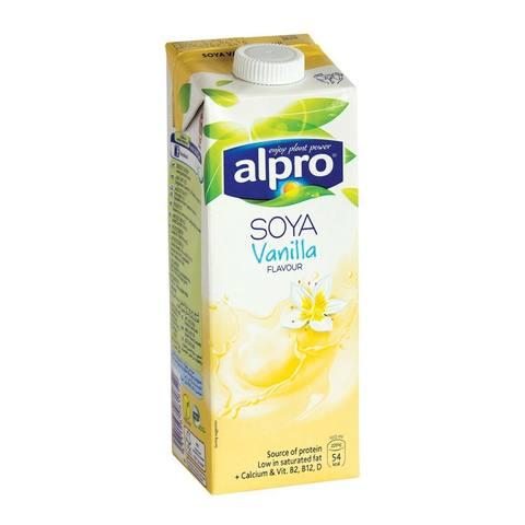 Buy Alpro Vanilla Flavour Soya Milk 1 L Online Shop Bio Organic Food On Carrefour Saudi Arabia
