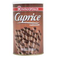 Caprice Cappuccino Wafer Rolls 250g