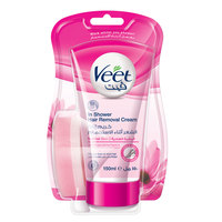 Veet In Shower Silk And Fresh Hair Removal Cream 150ml