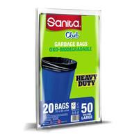 Sanita Club Trash Bag Large 50 gallons 20 Bags