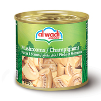 Al Wadi Al Akhdar Mushrooms Pieces & Stems 184GR