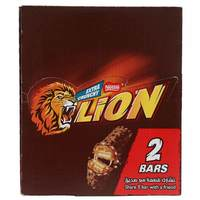 Nestle Lion Chocolate Bar 60g x Pack of 18