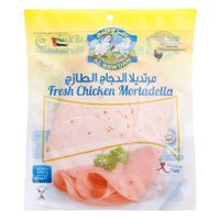Al Rawdah Fresh Chicken Mortadella Chilli 200g