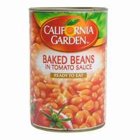 California Garden Cooked Beans In Tomato Sauce 420g