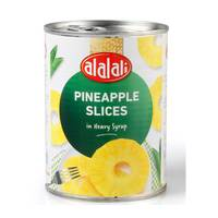 Al Alali Pineapple Slices in Heavy Syrup 567g