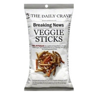 The Daily Crave Veggie Sticks 170g