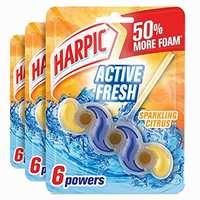 Harpic Toilet Block Fresh Power 6 Summer Breeze 39gx3