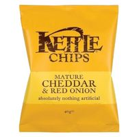 Kettle Cheddar And Onion Chips 40g