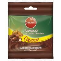 Canderel Almonds in Milk Chocolate 55g
