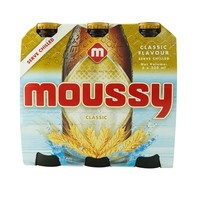 Moussy Classic Non Alcoholic Malt Beer 330ml x Pack of 6