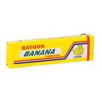 Batook Banana Flavoured Chewing Gum 5 Sticks