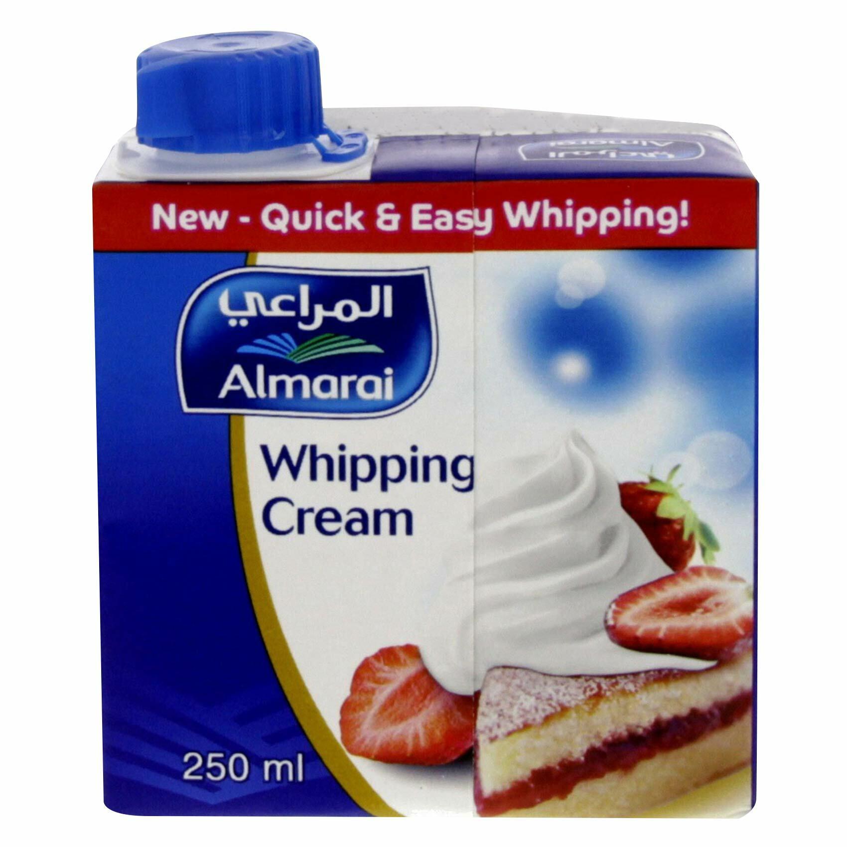 Buy Almarai Whipping Cream 250ml Online Shop Fresh Food On Carrefour Uae