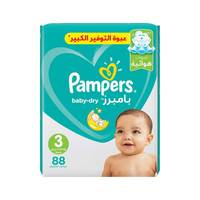 Buy Pampers Baby Dry Diapers Size 4 Maxi Mega Pack 76 Diapers Online Shop Baby Products On Carrefour Saudi Arabia