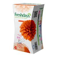 Freshdays pantyliners scented 2 in 1 - 24 pieces
