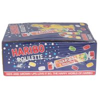 Haribo Roulette Candies 25g x Pack of 24