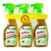 Carrefour Antibac Disinfectant Cleaner Pine 500ml x Pack of 3